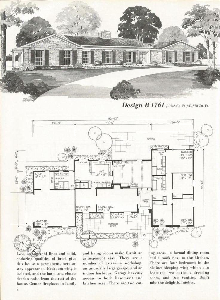 Vintage Ranch House Plans