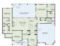 One Level House Plans with No Basement Fresh E Level House ...