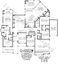 Luxury One Level Ranch Style House Plans - New Home Plans ...