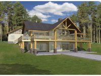 Beautiful One Story House Plans with Walkout Basement ...