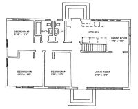 New One Story Ranch House Plans with Basement - New Home ...