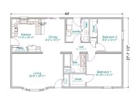 One Story Ranch House Plans with Basement Luxury 100 [ 1 ...