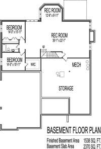 One Story with Basement House Plans Elegant E Story House