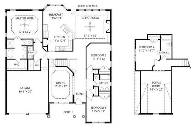 ranch house plans with bonus room above garage fresh