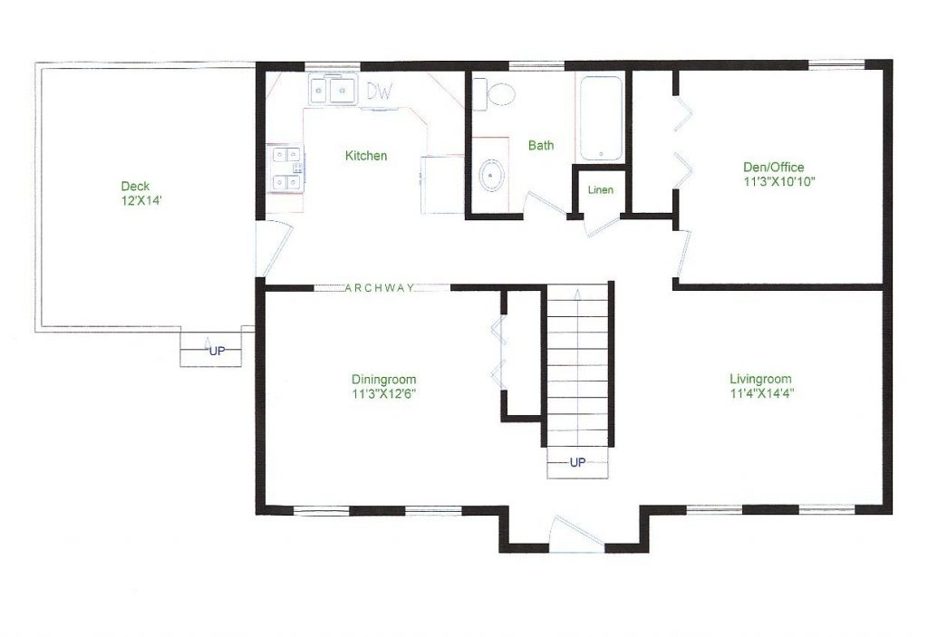 Simple Ranch House Floor Plans Best Of 100 [ Best Ranch