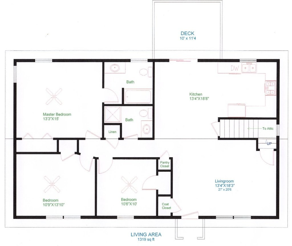 Lovely Simple Ranch Style House Plans