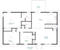 Lovely Simple Ranch Style House Plans - New Home Plans Design
