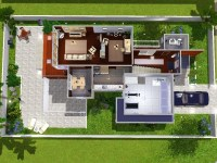Unique Sims 3 Modern House Floor Plans