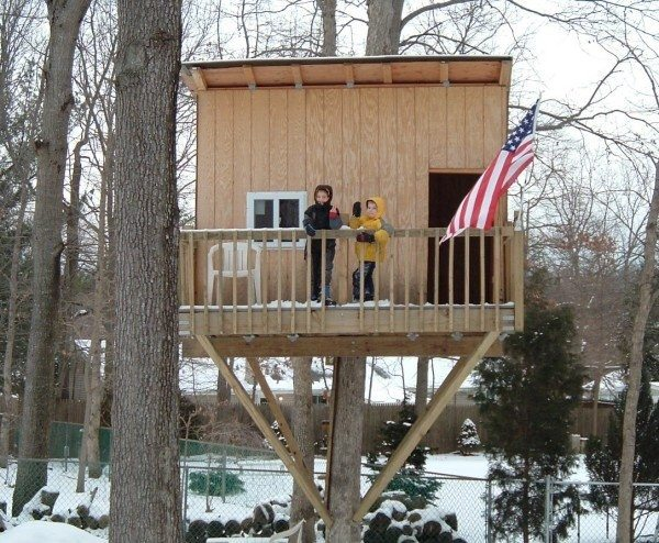 Best Of Tree House Plans for One Tree  New Home Plans Design