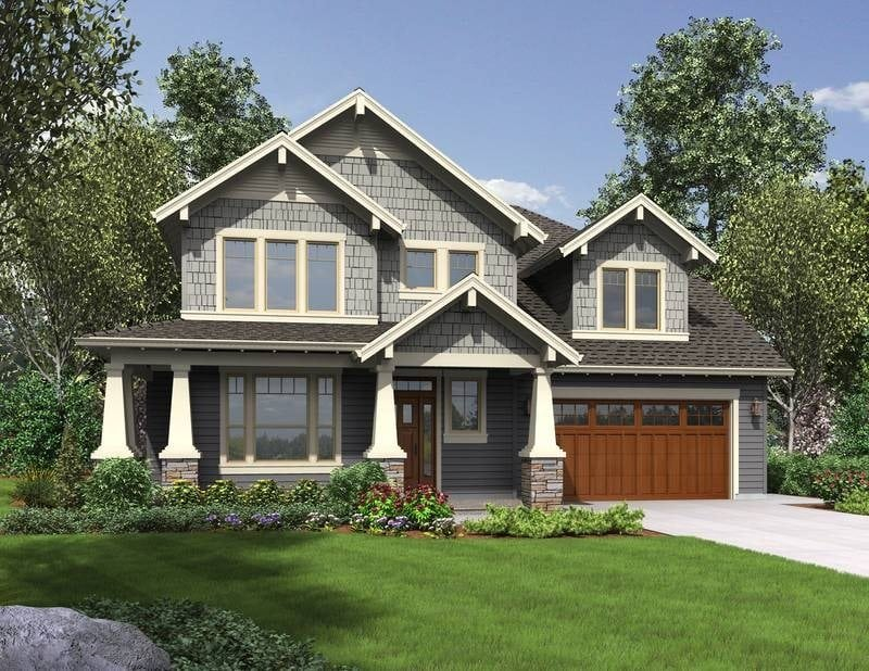 Two Story Craftsman Style House Plans Unique top 25 Best