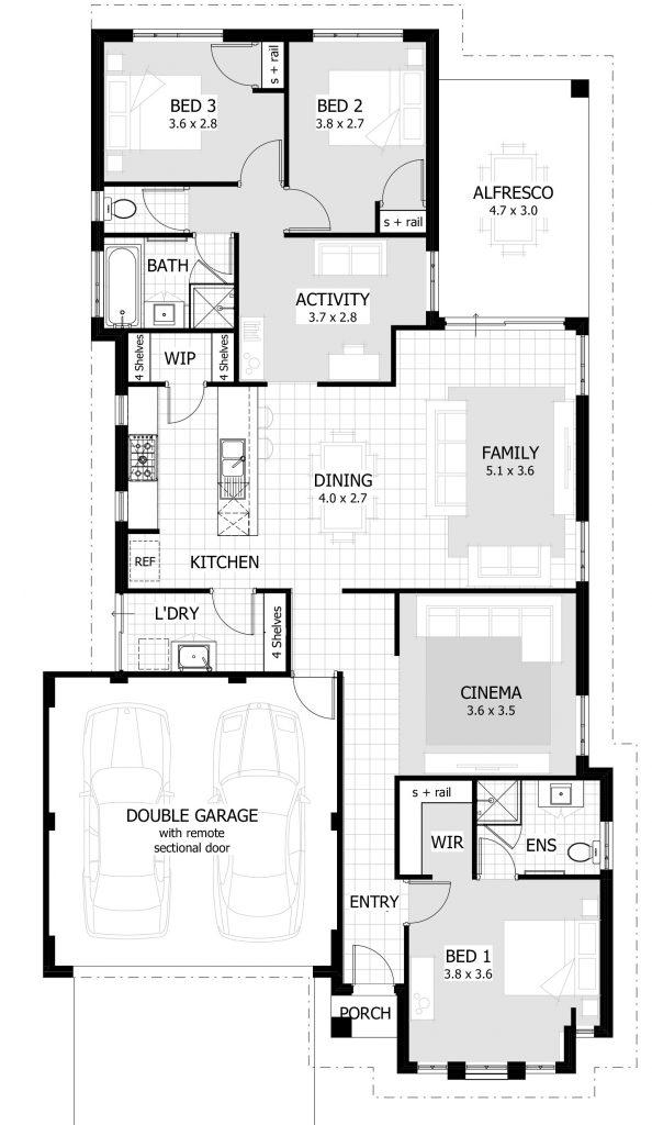 Beautiful Unique 3 Bedroom House Plans