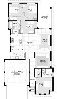 Beautiful Unique 3 Bedroom House Plans - New Home Plans Design