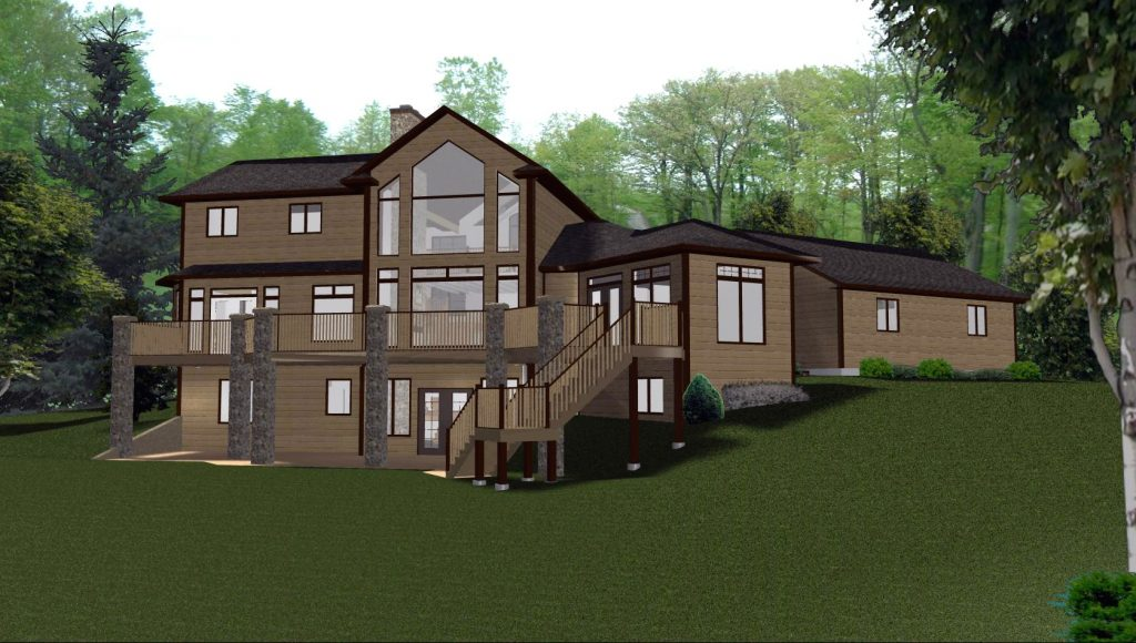 2 Story House Plans with Walkout Basement Beautiful 2