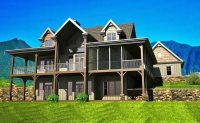 2 Story House Plans with Walkout Basement Fresh Open Floor ...