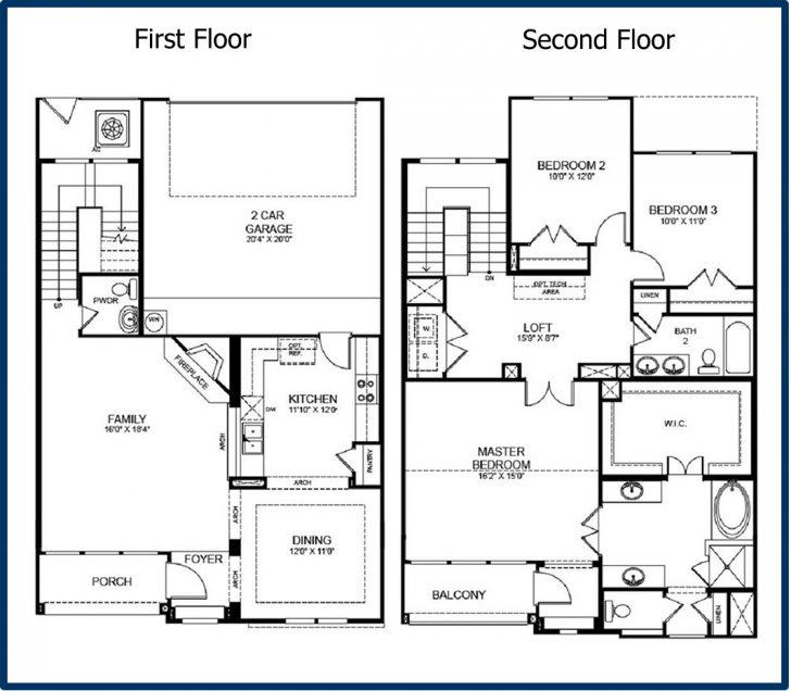 √ New House Floor Plans | Top Modern House Floor Plans