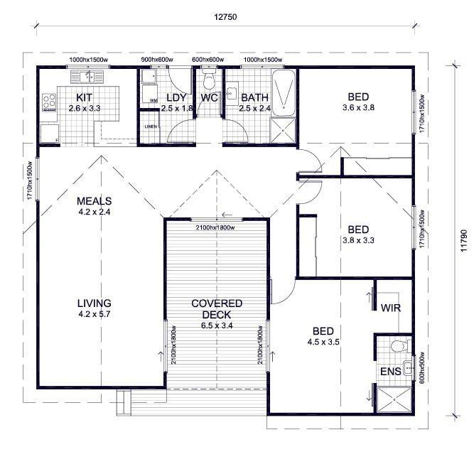 Lovely 3 Bedroom House Plans Australia  New Home Plans Design