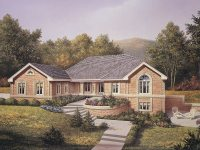 Brick Ranch House Plans Lovely 4 Bedroom 2 Bath Ranch ...