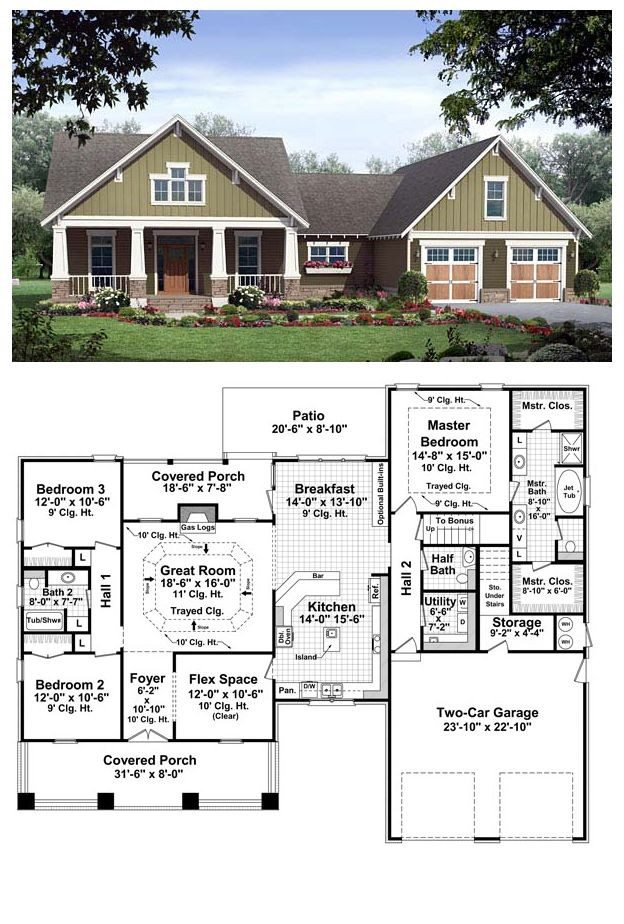 cool house plans ranch Archives  New Home Plans Design