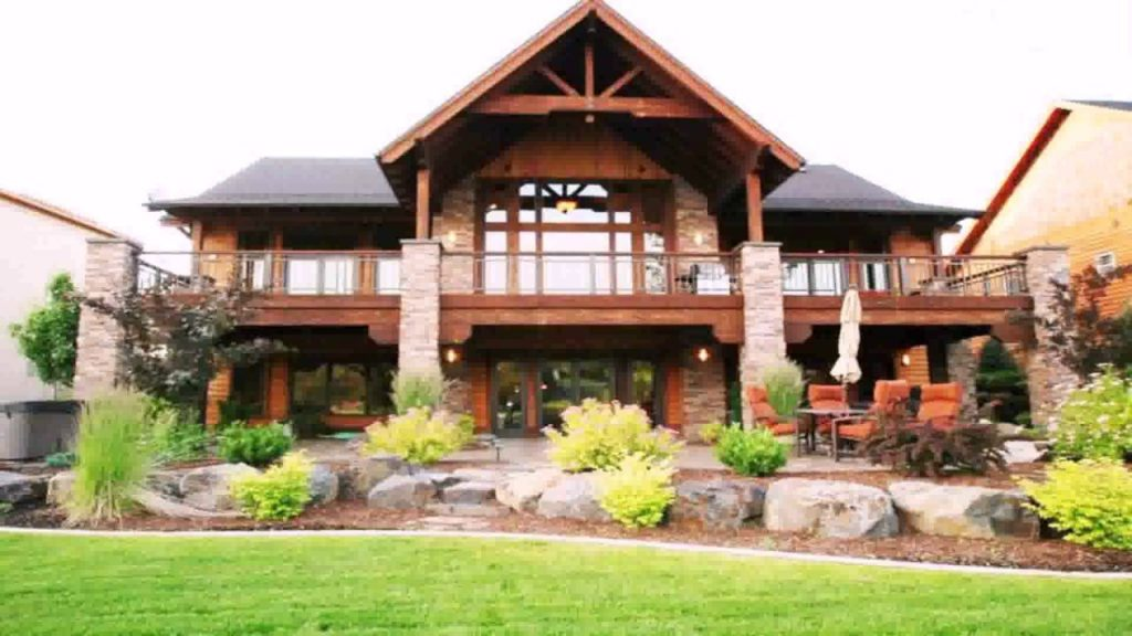 Lakefront House Plans with Walkout Basement Inspirational
