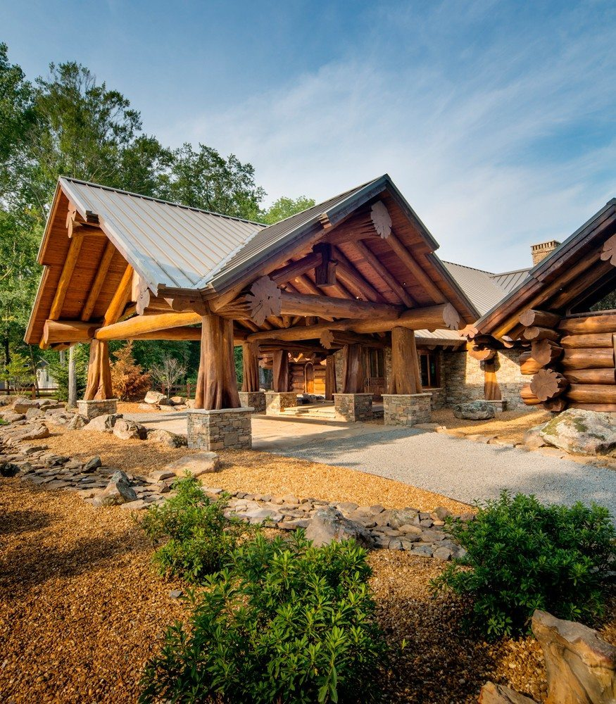Awesome Log Cabin Plans Canada  New Home Plans Design