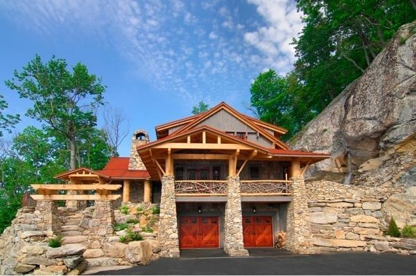 New Log Cabin Rentals In Nc  New Home Plans Design