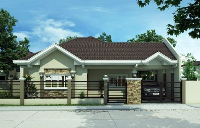 Modern Bungalow House Plans In Philippines Beautiful Free Lay Out