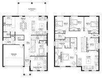 Elegant Modern Double Storey House Plans