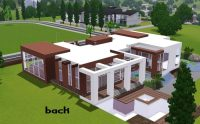 Modern House Floor Plans Sims 3 Awesome Home Design Modern ...