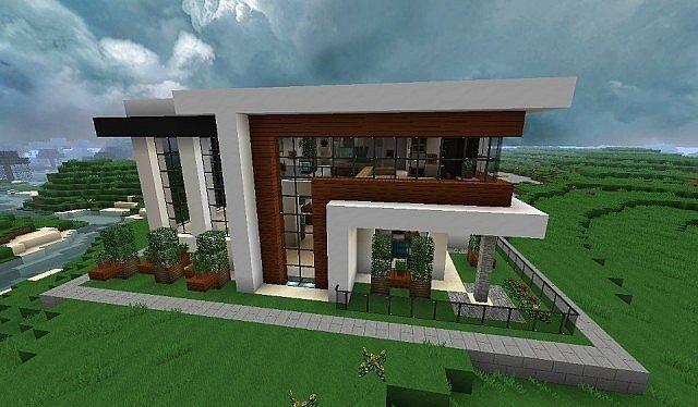 Luxury Modern House Plans Minecraft - New Home Plans Design