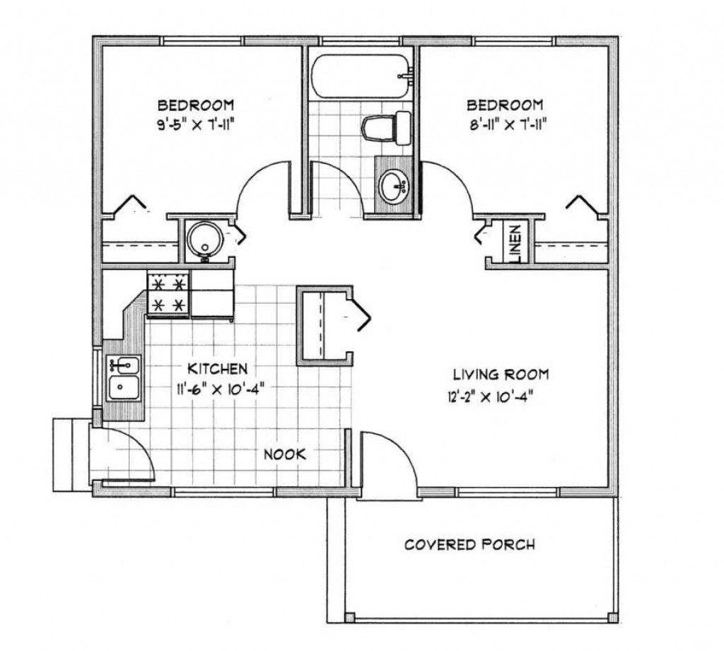 Modern House Plans Under 1000 Sq Ft Beautiful Modern House