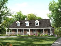 Ranch Style House Plans with Basement and Wrap Around ...