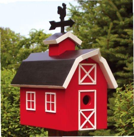 Red Bird House Plans Best Of 19 W2804 Barn Birdhouse