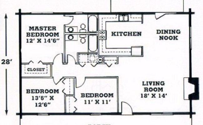Elegant Single Story Log Cabin Floor Plans New Home