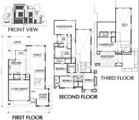 Town House Plans Modern Luxury Modern townhouse Floor ...
