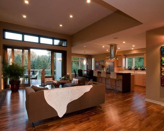 Elegant Modern Open Floor Plan House Designs
