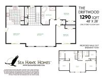 Beautiful One Story House Plans with Finished Basement ...