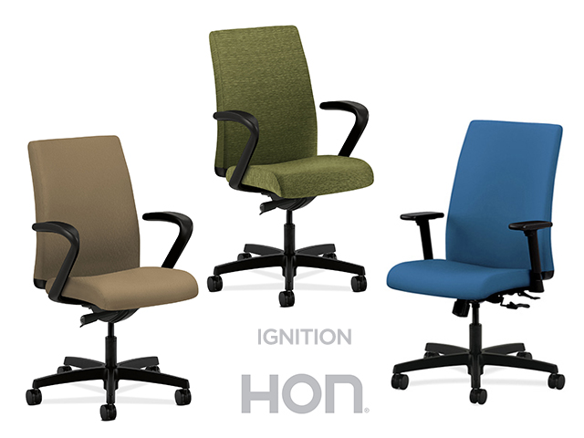 hon ignition fabric chair coleman patio chairs task big tall arizona office furniture high back