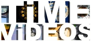 Time Videos header cover photos clocks watch images pics big bold white type font