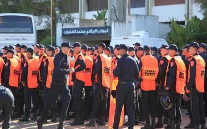 وفاة شرطي بعد سقوطه خلال مباراة الوداد والرجاء