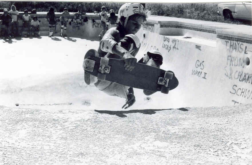 Don Ho shredding the infamous Deadcat pool, circa 1975