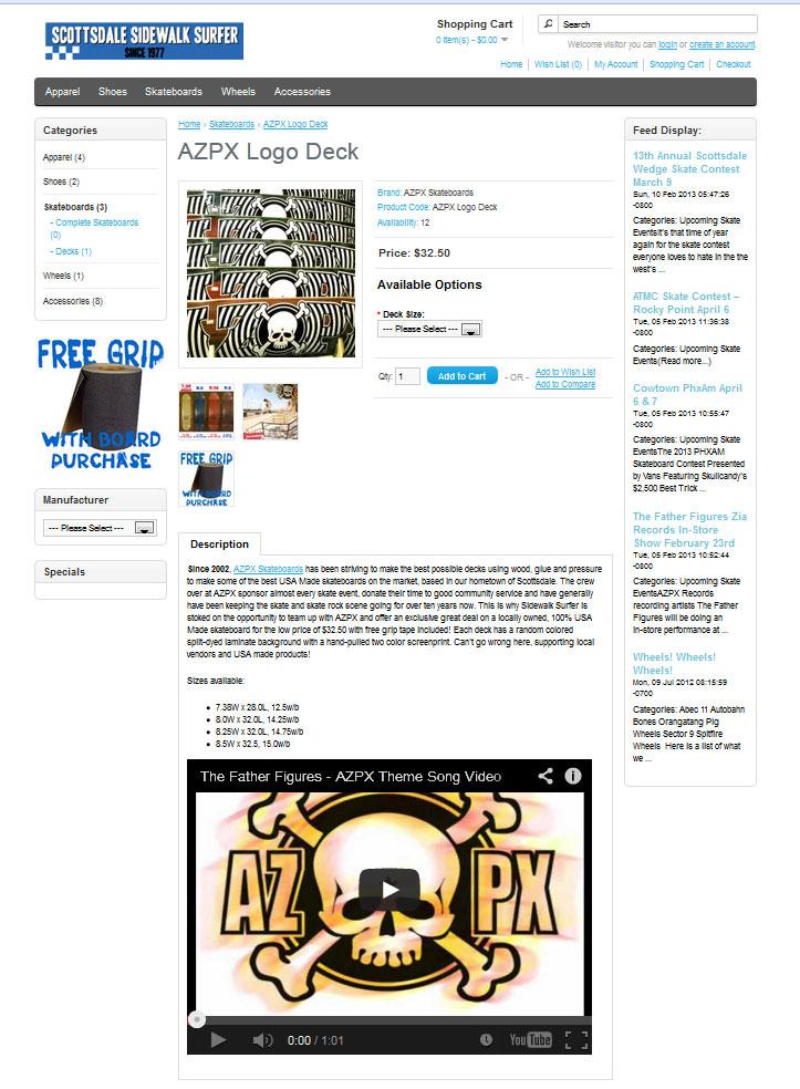 azpxsswebstorepage
