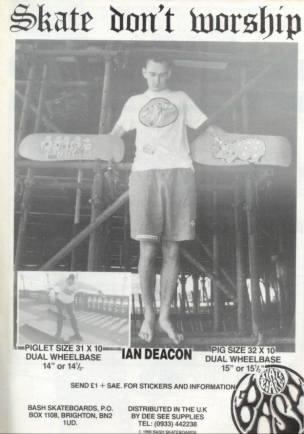 Ian Deacon sends a positive message to the kids...