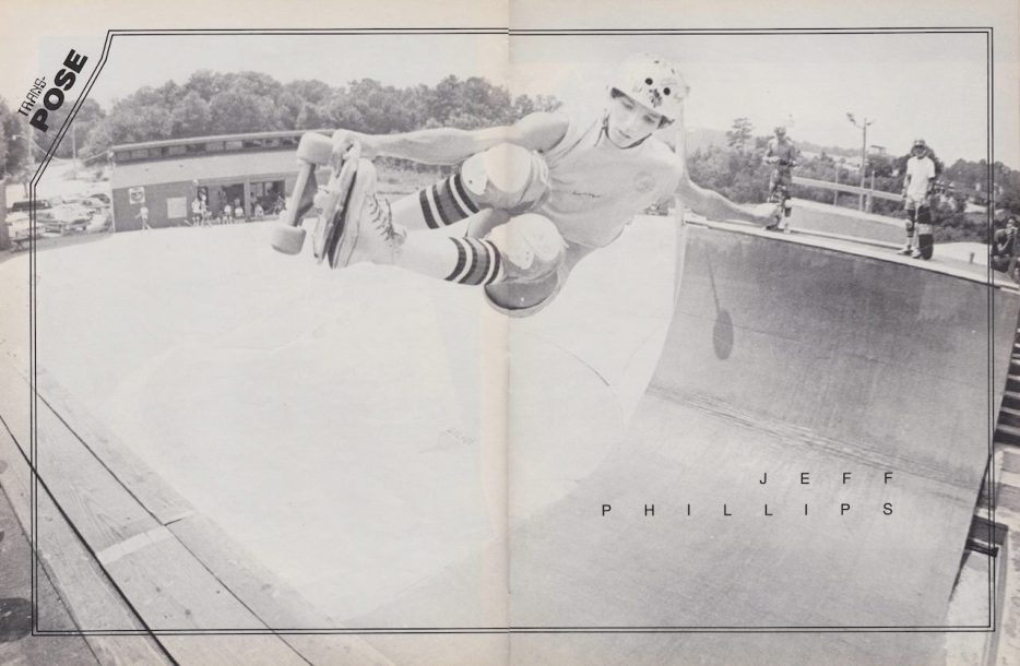 Jeff Phillips boneing out a frontsdie air