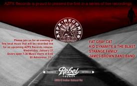 azpx-records-rebel-lounge-show-flyer