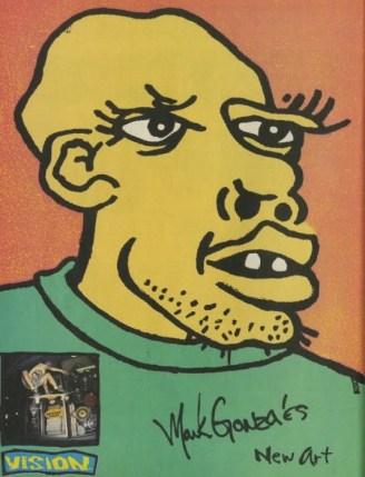 Gonz self portrait
