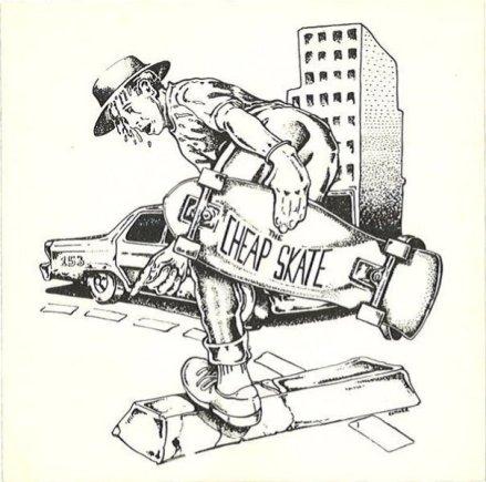 The Cheap Skate Tempe Arizona Art: Sam Esmoer