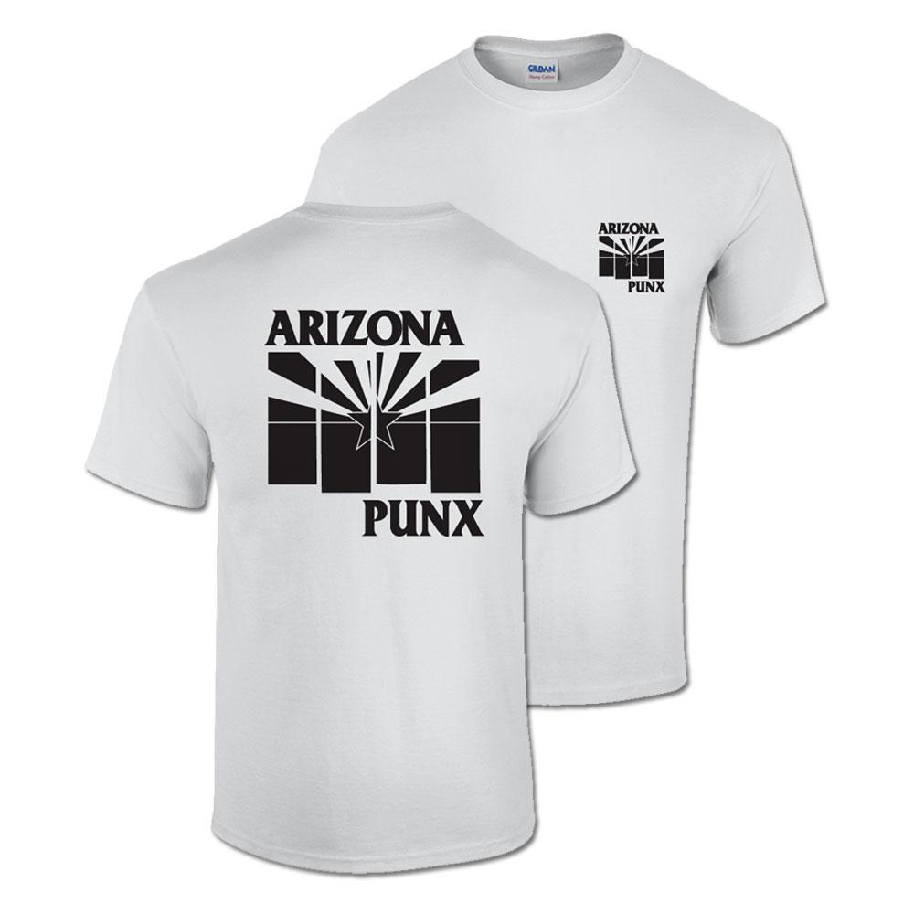Black Arizona Flag Shirt White