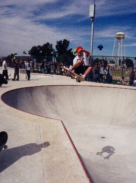 Andy Levy, stalefish in a fresh bowl.