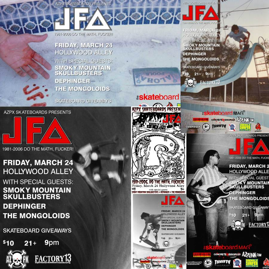 JFA's 25th Anniversary – 10 Years Ago
