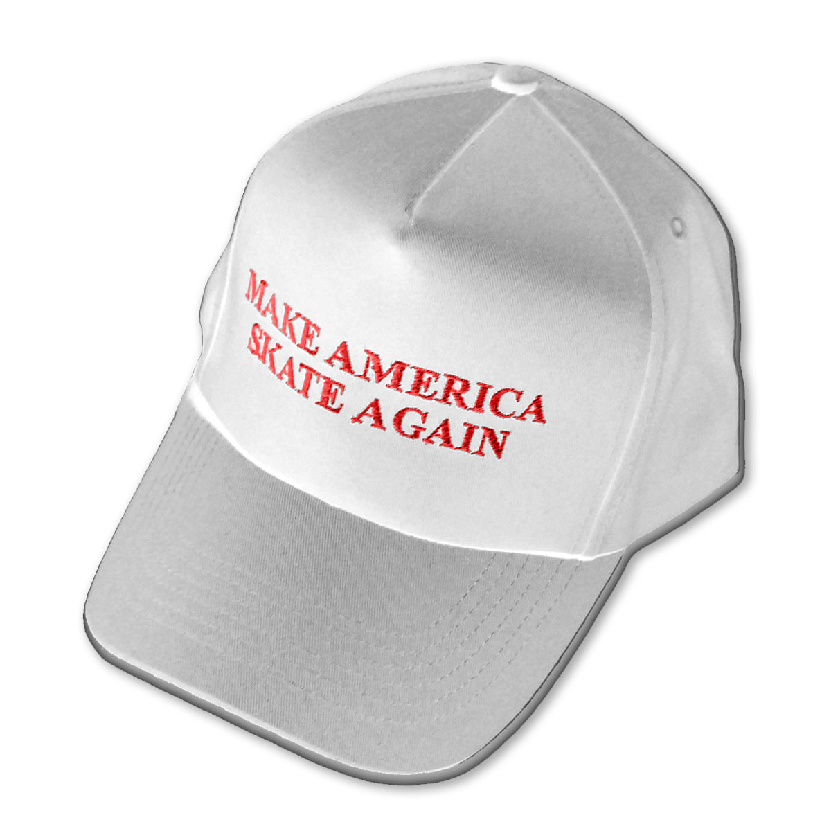 Make America Skate Again Hat White